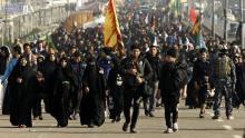 مسیر پیادهروی اربعین و موقعیت موکبهای ایرانی