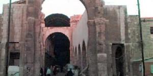 ورودی بازار شام (عکس قدیم)