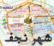 نقشه شهر نجف اشرف