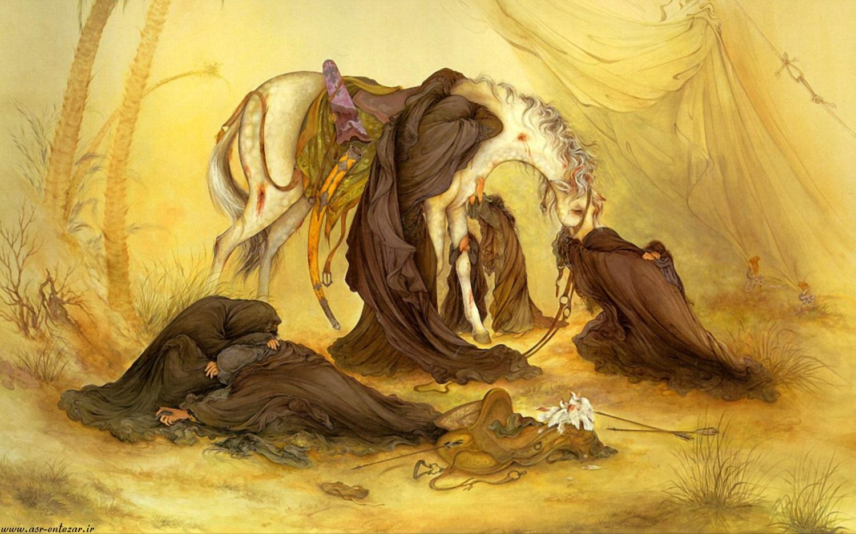 پوستر عصر عاشورا (اثر استاد فرشچیان)